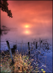 Daybreak on Loch Ard (silverlarynx) Tags: dawn loch ard daybreak kinlochard