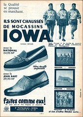 the 1960s-ad for Iowa moccasins (april-mo) Tags: vintage ads 1963 moccasins vintagead vintageshoes the1960s 1960sad manufrancestetienne iowamoccasins vintageiowamoccasins adforiowamoccasins