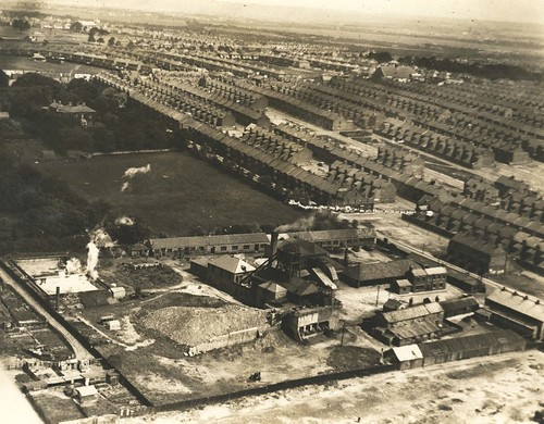 Charlotte Pit, Benwell around 1935