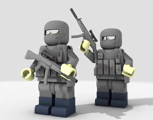 Special Air Service (SAS) Trooper