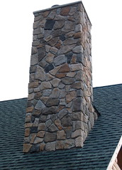 Finished chimney