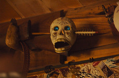 (R_e_e_D) Tags: face scary cabin colorado unitedstates bigcreeklakes