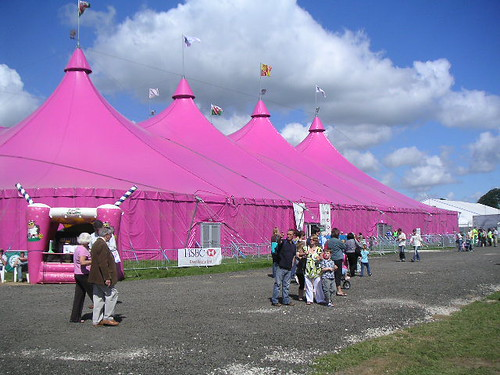 The big pink tent and those goddamn rocks again