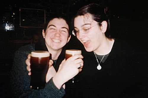 Havin' a pint