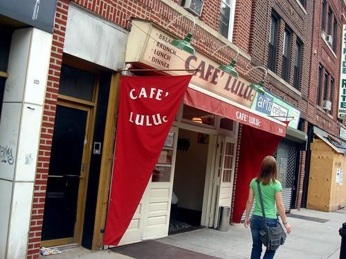 A café on Smith Street