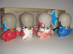 flying fortress - teddy troops (Pasota.com) Tags: urban art toys flying teddy vinyl fortress troops adfunture