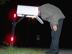 Day 39 - mail come yet? (TheDamnMushroom) Tags: selfportrait mailbox empty echo 365 dogandcerealbox echo echo