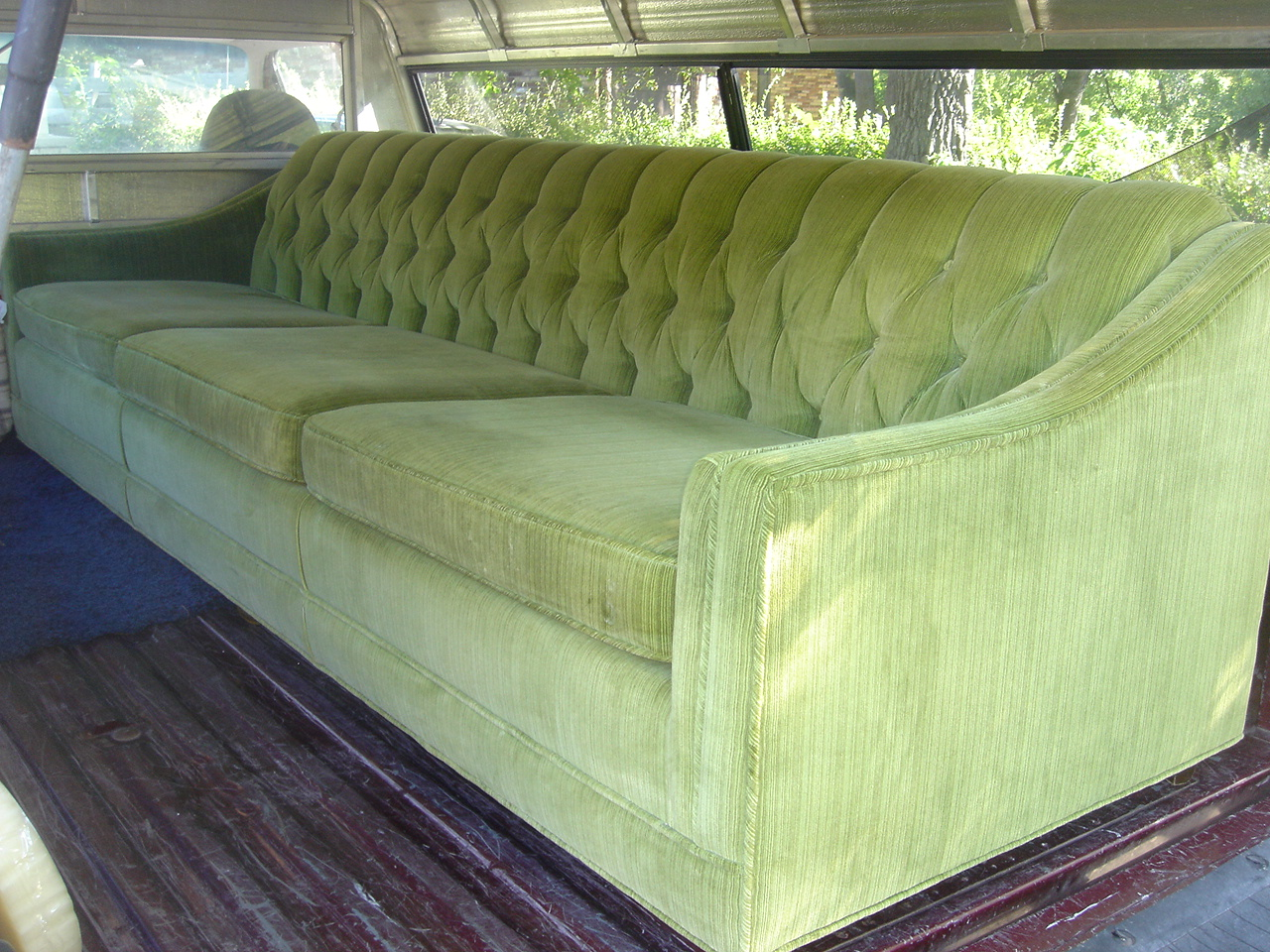 my glamorous new couch