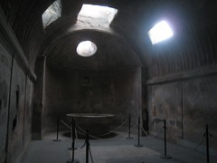 bath house in pompei