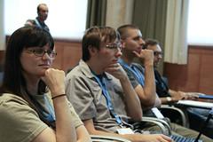 Addi at DrupalCon Barcelona 2007