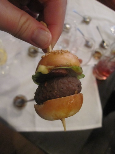 Kobe beef miniburger