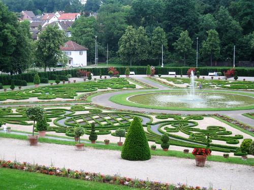Schloss Ludwigsburg garten