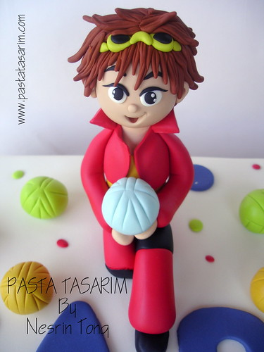 BAKUGAN CAKE - SARP BIRTHDAY