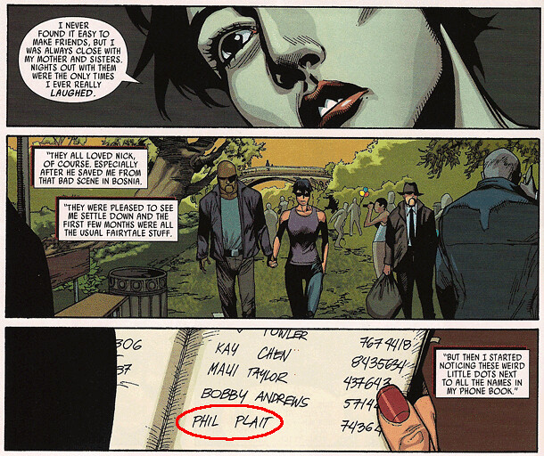 Apparently, Black Widow knows me  And maybe Nick Fury, does, too