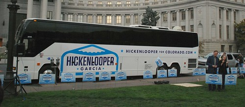 20101023 Hickenlooper-Garcia Bus Stop Rally