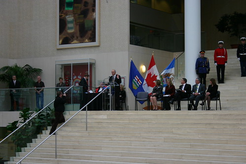 Edmonton City Council Swearing in Ceremony