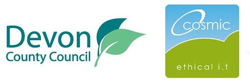 Devon CC & Cosmic logo