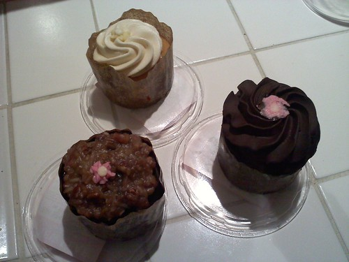 Birthday cupcakes from Black China Bakery