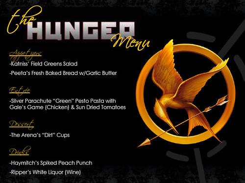 HG party menu