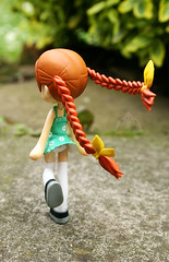 So Windy Today! (dollie_mixtures) Tags: macro cute canon toy japanese funny doll dress rebecca pinky kawaii figure braids pinkyst custom topf100 400d wildarms