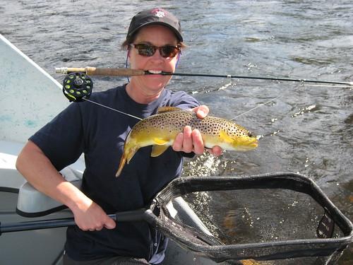 brown fish broken fishing montana flyfishing trout angler girlsgonewild slump ggw rallyhat bugeaters