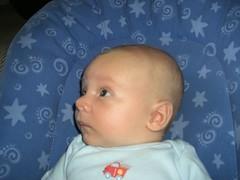 5 weeks 2 days (jrishel) Tags: baby awake cory