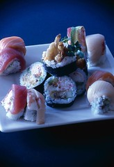 sushi 1 (smurphy09) Tags: food fish sushi japanese plate eat elegance