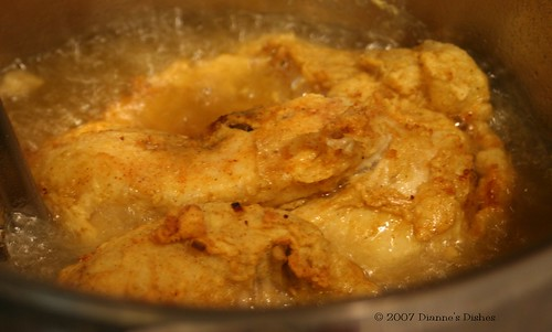 Fried Buttermilk Chicken Frying