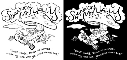 Shannon McNally T-Shirt Design