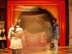 TAO (selva) Tags: vegas red people blur lasvegas nightclub motionblur venetian tao