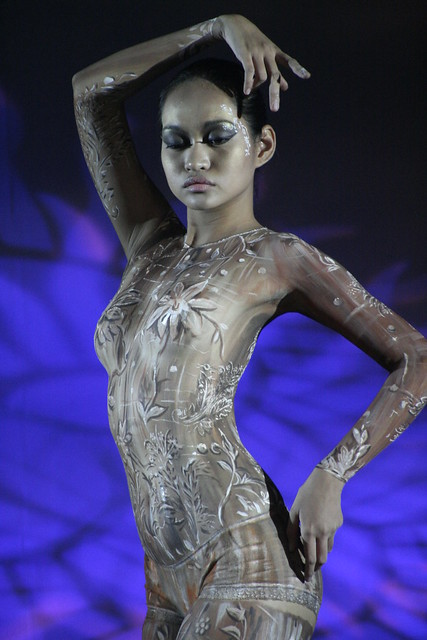 body paint contest in hongkong 3
