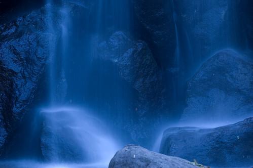 [フリー画像] 自然・風景, 滝, 日本, ブルー, 201005260700