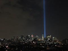 World Trade Center Tribute in Light (Jeffrey Keefer) Tags: worldtradecenter 911 tributeinlight