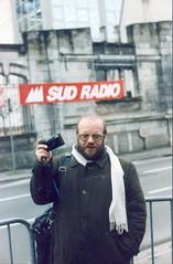 Franco Fossati al Museo del Fumetto di Angouleme, 1995