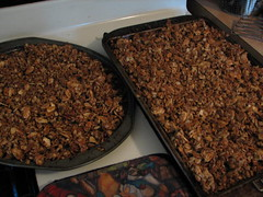 Maple Almond Granola
