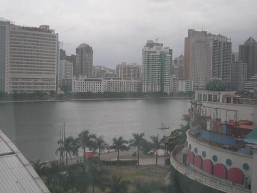 View from Powerlong Hotel, Xiamen