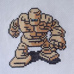 Goldman (benjibot) Tags: crossstitch crafts videogames crop nes dragonwarrior reshoot