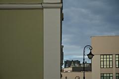 Knight's move (Alena Kuptsova) Tags: sky building clouds streetlamp moscow zamoscvorechie