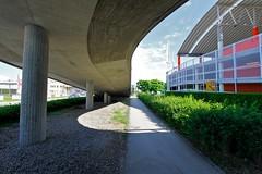 Plus City (austrianpsycho) Tags: weg parkhaus auffahrt pasching einkaufszentrum pluscity