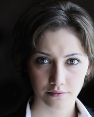 INA III (AragianMarko) Tags: portrait woman girl eyes nikon shadows naturallight portraiture zena portret timisoara cs4  draganeffect timis d90 oravita carasseverin 18105mm devojka markoaragian lunguflorina