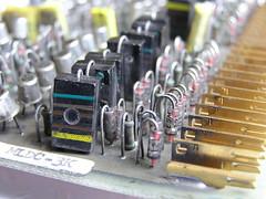 Diodes, resistors and capacitors?