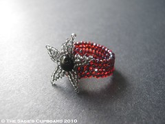 Heartbreaker Starfish Ring by The Sage's Cupboard