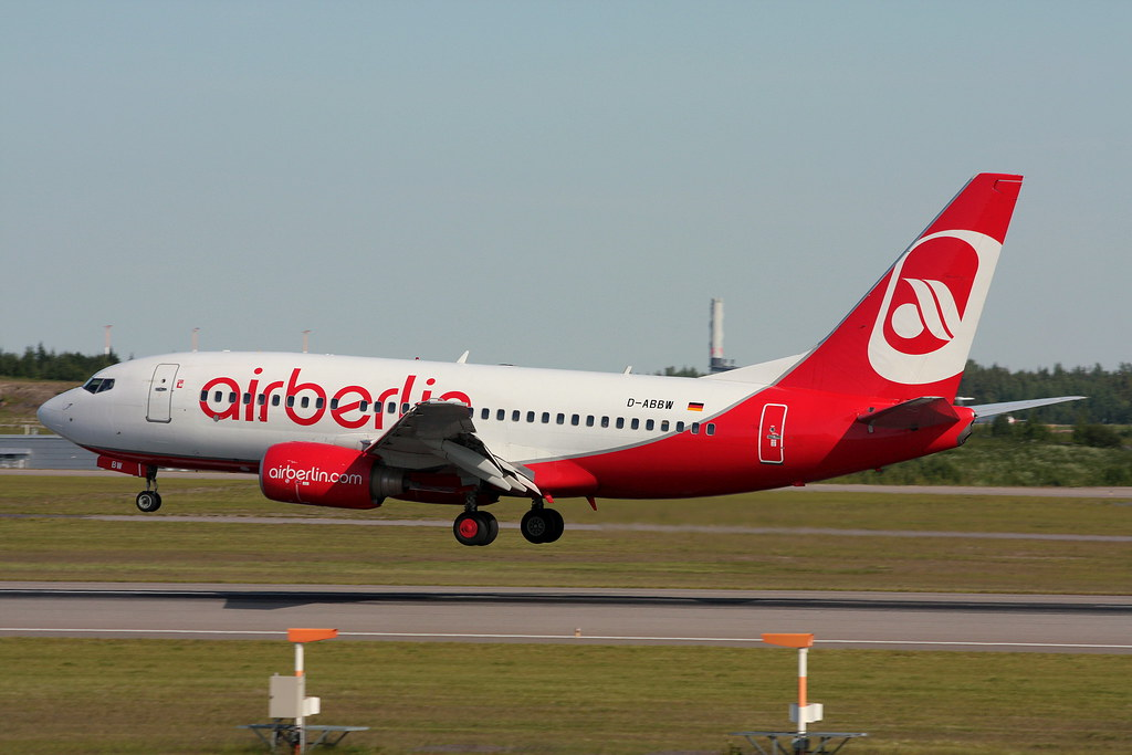 Air Berlin - D-ABBW - Boeing 737-7Q8