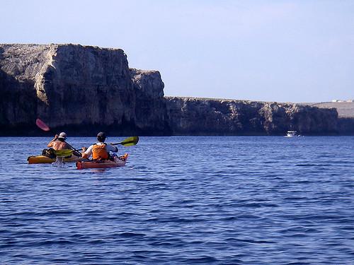Vuelta a Menorca en kayak 11