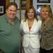 John Meaney, Marcia White, Fran Dingeman