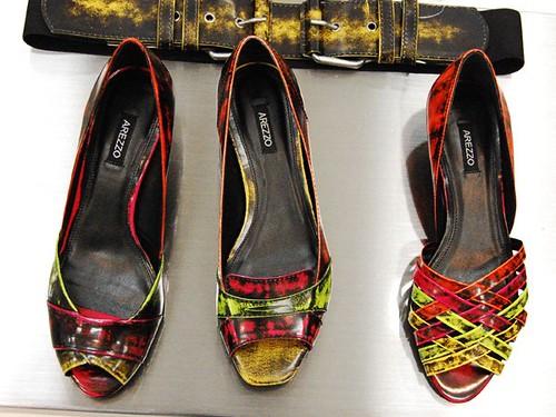 calçados arezzo 2010