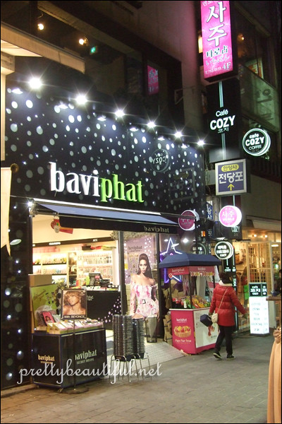 baviphat store in myeongdong