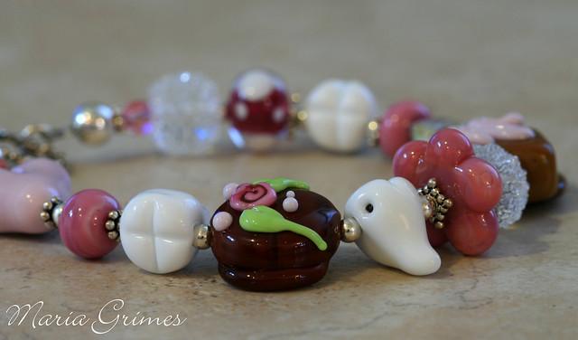 Sweet Tooth Lampwork Bracelet