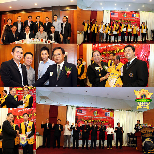 Charter banquet of Lions Club of Penang Centennial