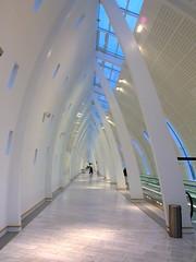 Kastrup (Swedish Saguaro) Tags: white copenhagen airport long arch terminal cph kastrup kpenhamn